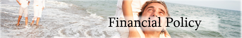 Financial Policy Header